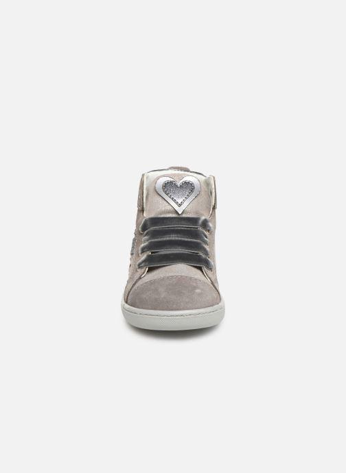 Baskets Primigi PLK 44045 Gris vue portées chaussures