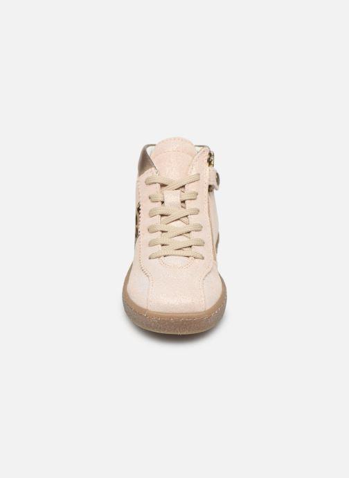 Baskets Primigi PHM 44176 Beige vue portées chaussures