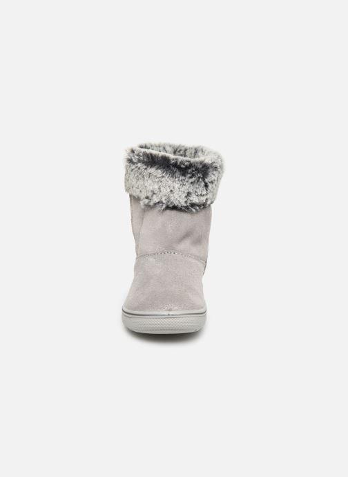 Stiefel Primigi PSN 43638 grau schuhe getragen