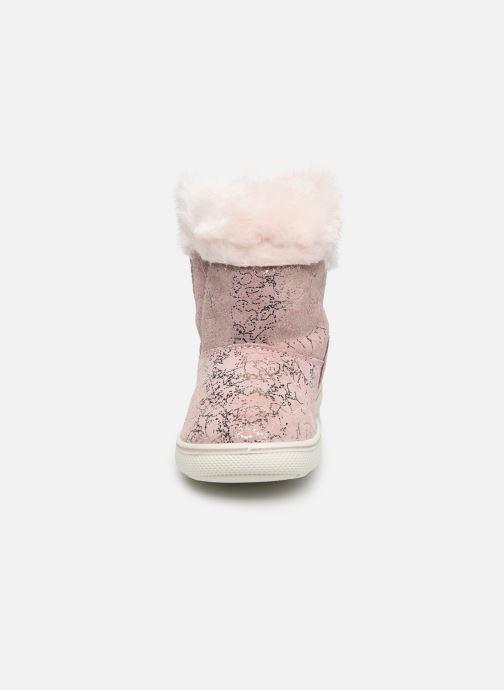 Bottes Primigi PSN 43638 Rose vue portées chaussures