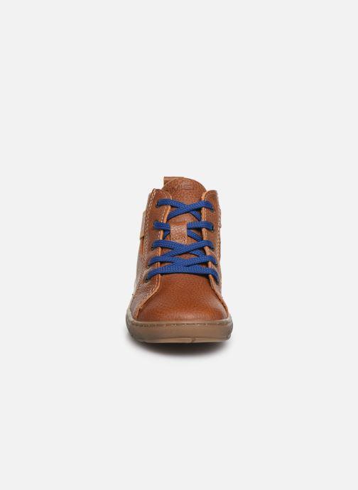 Baskets Primigi PAW 44138 Marron vue portées chaussures