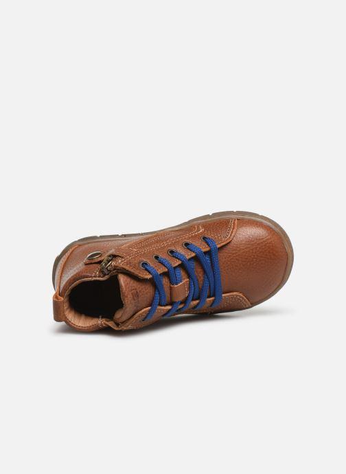 Sneakers Primigi PAW 44138 Marrone immagine sinistra