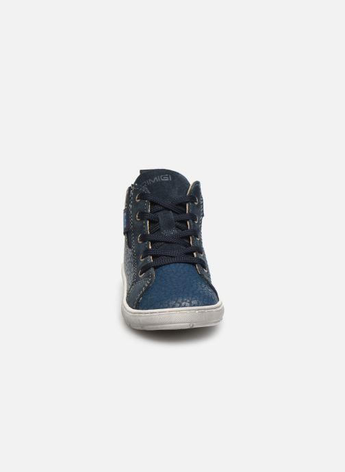 Baskets Primigi PAW 44138 Bleu vue portées chaussures