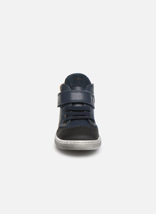 Baskets Primigi PLK 44040 Bleu vue portées chaussures