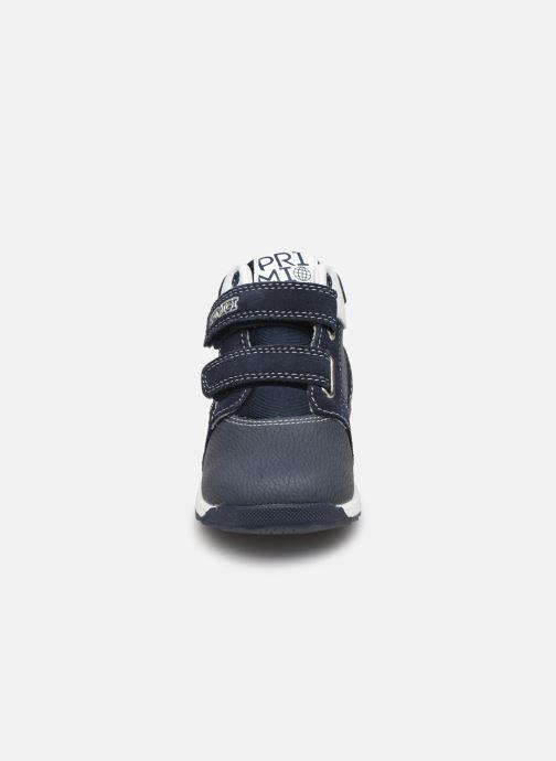 Sneakers Primigi PBJ 44514 Azzurro modello indossato