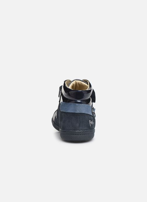 Baskets Primigi PTF 44324 Bleu vue droite