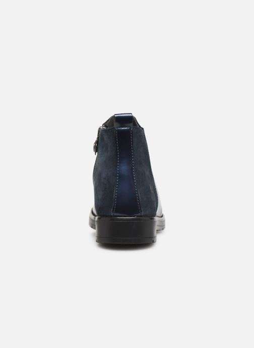 Ankle boots Primigi PRY 44417 Blue view from the right