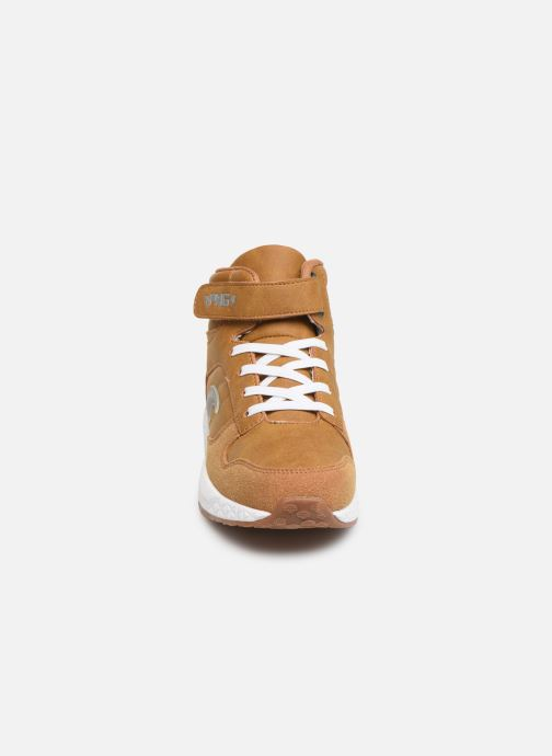 Sneaker Primigi PME 44571 braun schuhe getragen