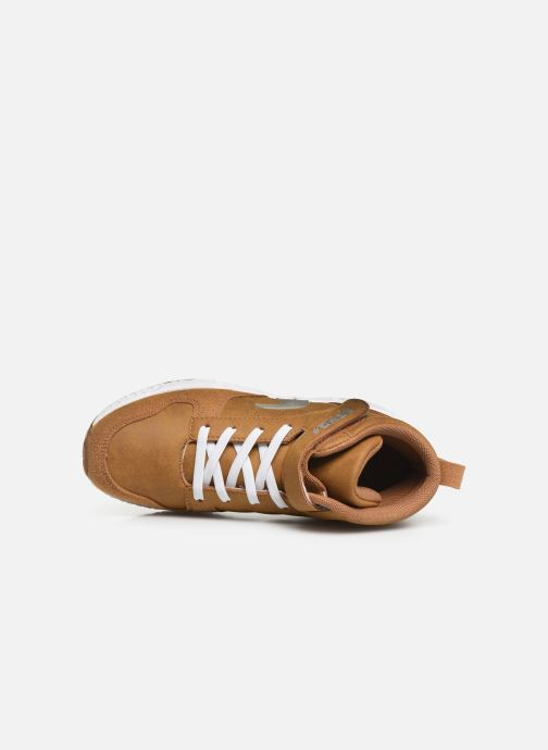 Sneaker Primigi PME 44571 braun ansicht von links