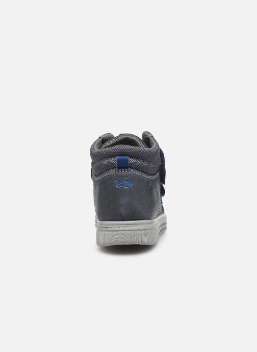 Baskets Primigi PUA 43752 Bleu vue droite