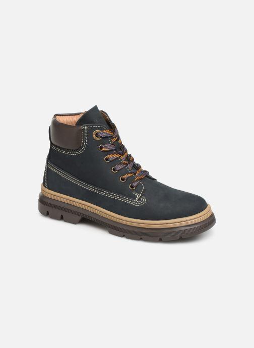 Bottines et boots Primigi PPK 44151 Bleu vue détail/paire