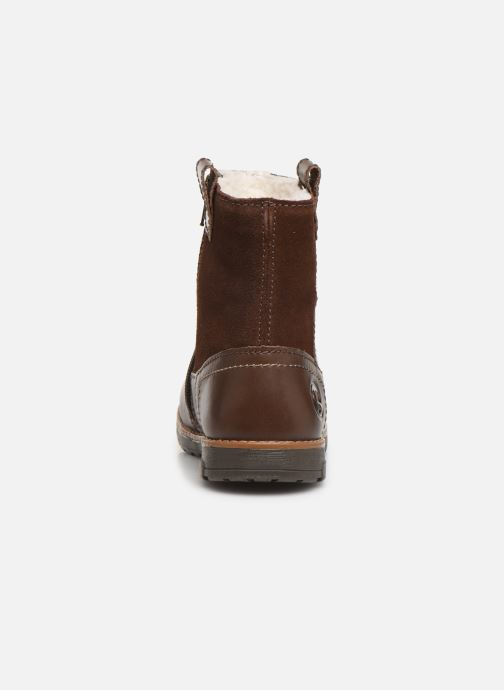 Boots & wellies Primigi PCA 44111 Brown view from the right