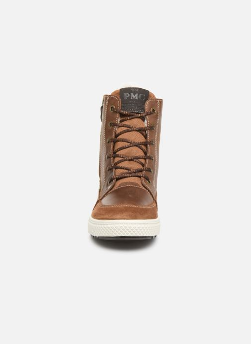 Sneaker Primigi PBY GTX 43922 braun schuhe getragen