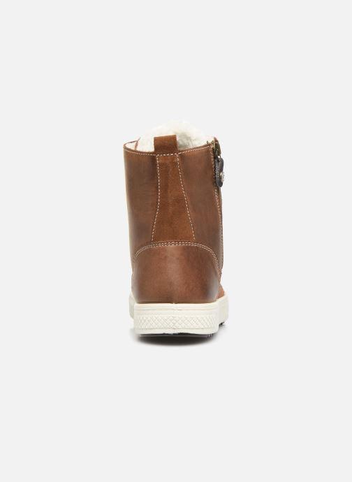 Sneaker Primigi PBY GTX 43922 braun ansicht von rechts
