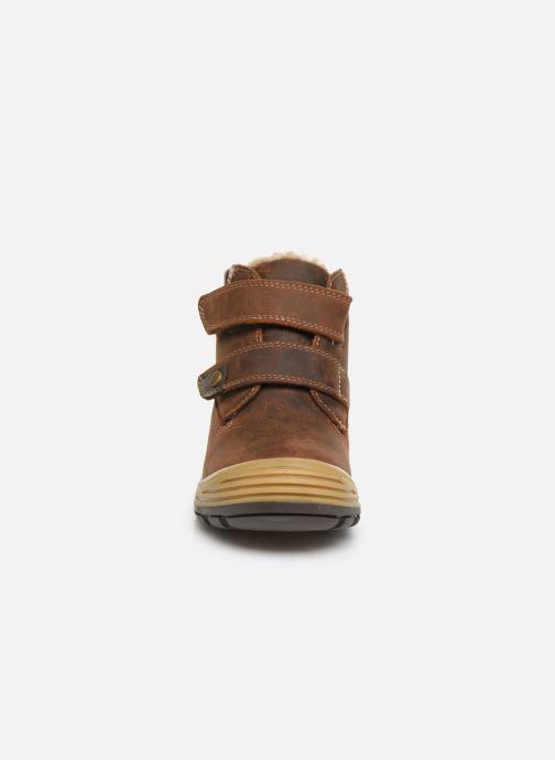 Chaussures de sport Primigi PTC GTX 44361 Marron vue portées chaussures