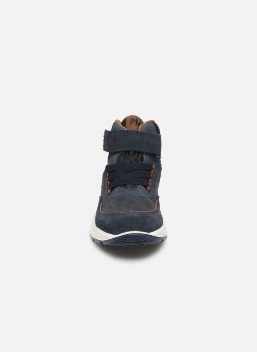 Baskets Primigi PTBGT 43895 Bleu vue portées chaussures