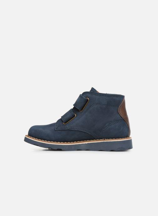 Zapatos con cordones Primigi PTE 44202 Azul vista de frente