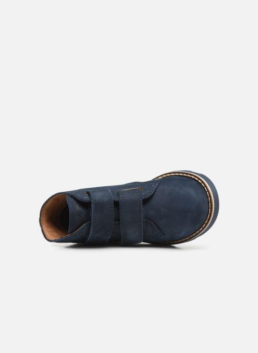 Zapatos con cordones Primigi PTE 44202 Azul vista lateral izquierda
