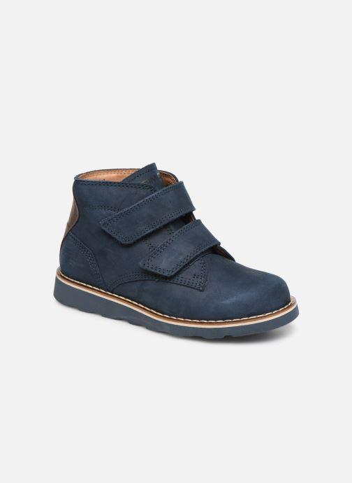 Zapatos con cordones Primigi PTE 44202 Azul vista de detalle / par