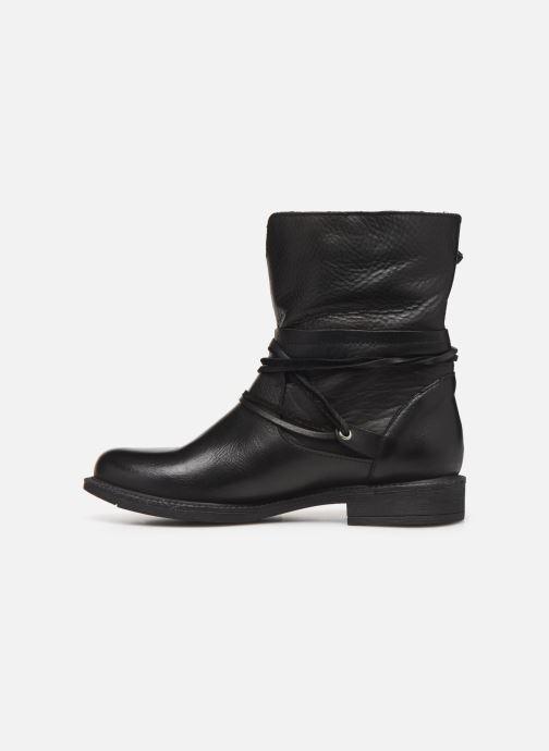 Bottines et boots Georgia Rose Medita Noir vue face