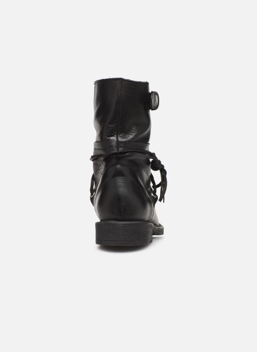 Bottines et boots Georgia Rose Medita Noir vue droite