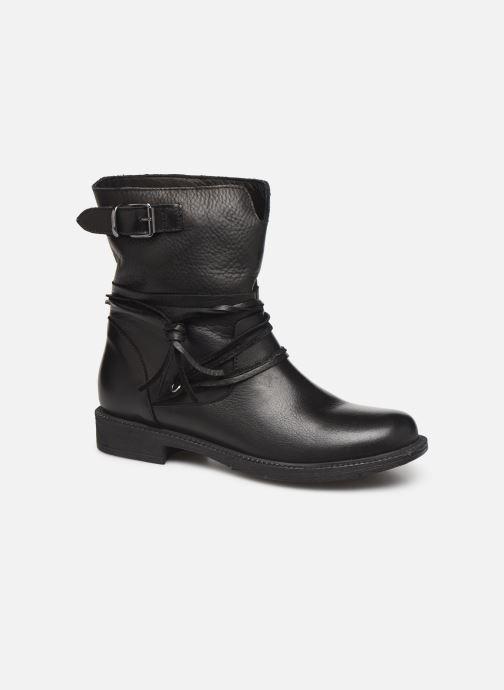 Bottines et boots Georgia Rose Medita Noir vue détail/paire
