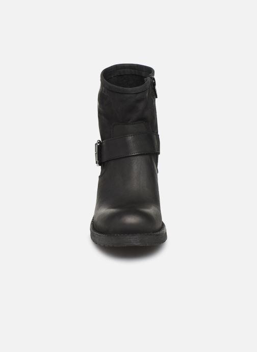 Bottines et boots Georgia Rose Murta Noir vue portées chaussures