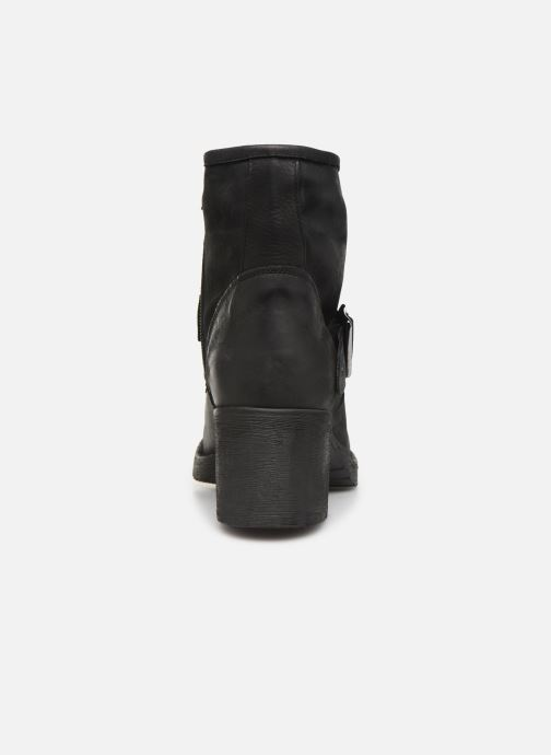 Bottines et boots Georgia Rose Murta Noir vue droite