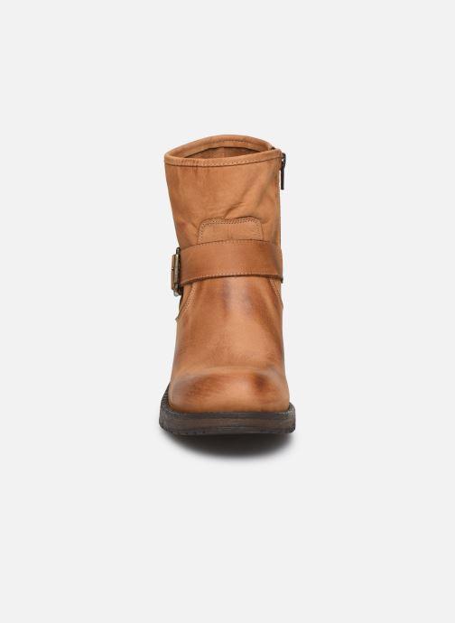 Bottines et boots Georgia Rose Murta Beige vue portées chaussures