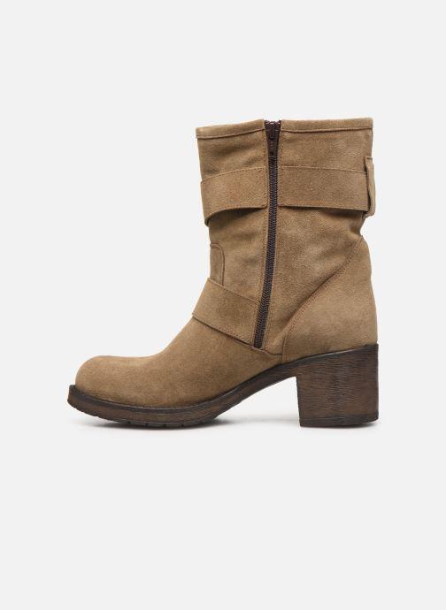 Boots en enkellaarsjes Georgia Rose Manexca Bruin voorkant