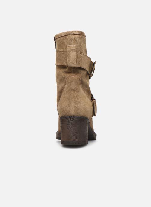 Boots en enkellaarsjes Georgia Rose Manexca Bruin rechts