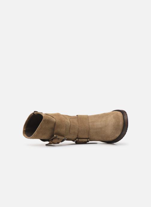 Boots en enkellaarsjes Georgia Rose Manexca Bruin links