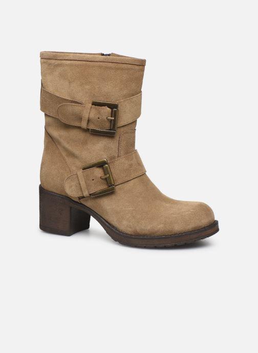 Boots en enkellaarsjes Georgia Rose Manexca Bruin detail