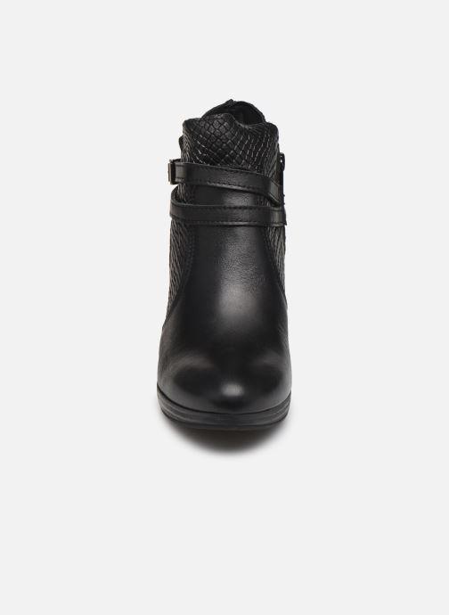 Bottines et boots Georgia Rose Manero Noir vue portées chaussures