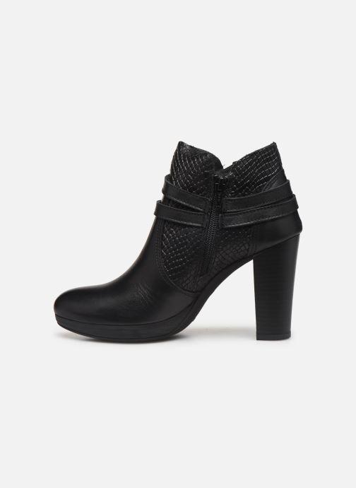 Bottines et boots Georgia Rose Manero Noir vue face