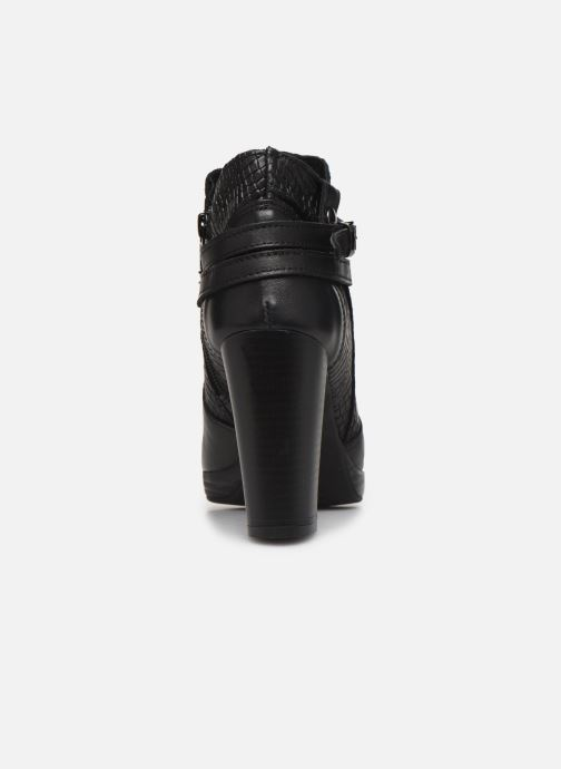 Bottines et boots Georgia Rose Manero Noir vue droite