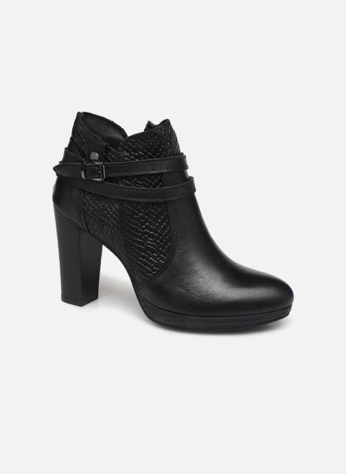 Ankelstøvler Georgia Rose Manero Sort detaljeret billede af skoene