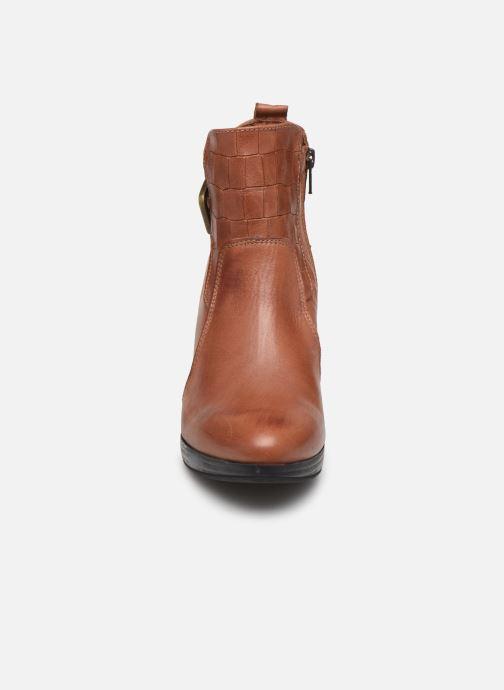 Bottines et boots Georgia Rose Manerian Marron vue portées chaussures