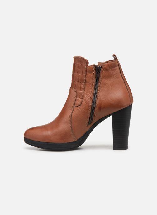 Bottines et boots Georgia Rose Manerian Marron vue face