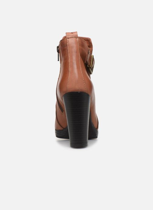 Bottines et boots Georgia Rose Manerian Marron vue droite