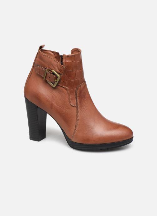 Bottines et boots Georgia Rose Manerian Marron vue détail/paire