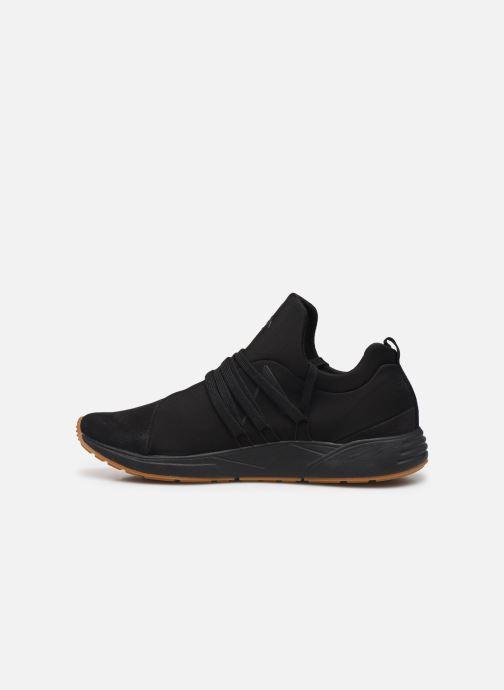 Sneaker ARKK COPENHAGEN Raven Nubuck schwarz ansicht von vorne