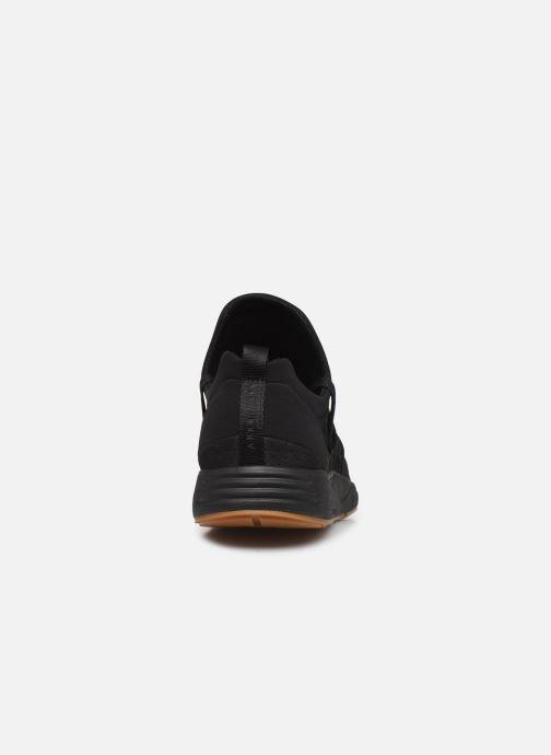Sneaker ARKK COPENHAGEN Raven Nubuck schwarz ansicht von rechts