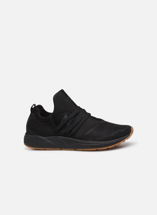 Sneaker ARKK COPENHAGEN Raven Nubuck schwarz ansicht von hinten