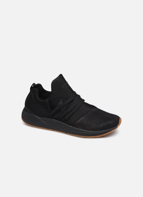 Sneaker ARKK COPENHAGEN Raven Nubuck schwarz detaillierte ansicht/modell