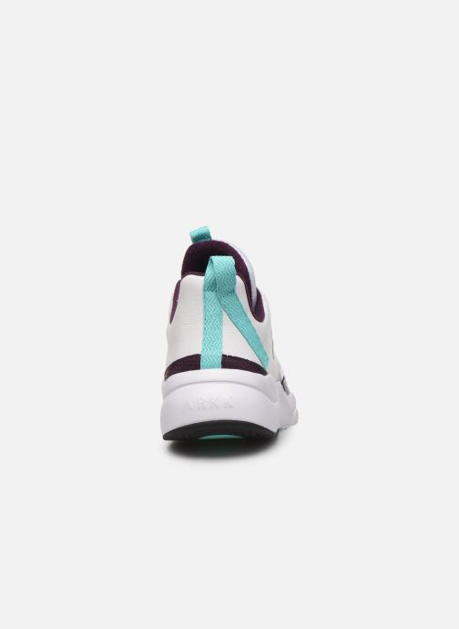 Trainers ARKK COPENHAGEN Asymtrix Mesh Multicolor view from the right