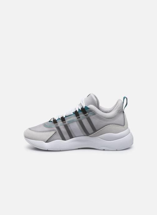 Sneakers Arkk Copenhagen Lyron Mesh Grigio immagine frontale