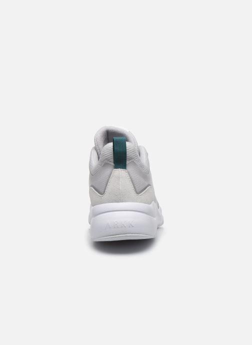 Sneakers Arkk Copenhagen Lyron Mesh Grigio immagine destra