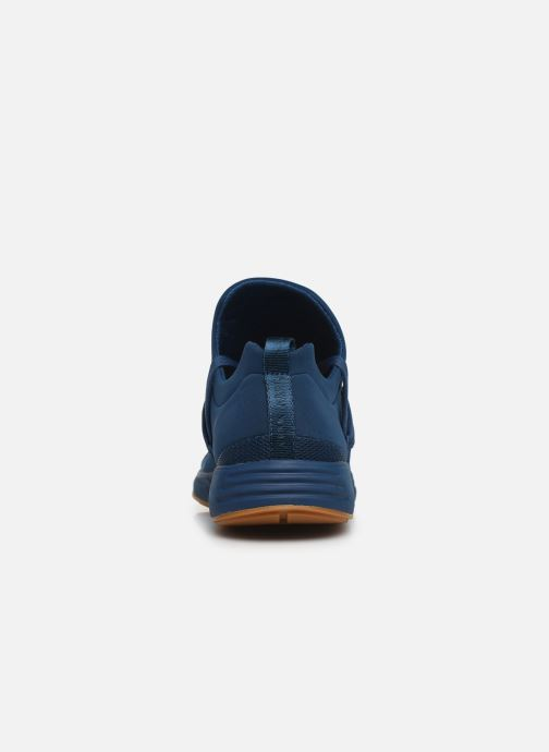 Baskets ARKK COPENHAGEN Raven Mesh M Bleu vue droite