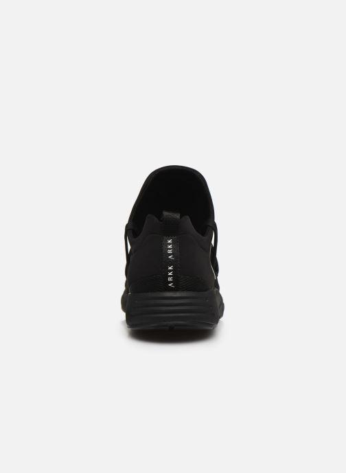 Sneaker Arkk Copenhagen Raven Mesh M schwarz ansicht von rechts